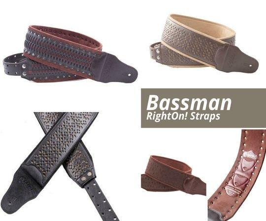 Curele pentru chitara Bassman
