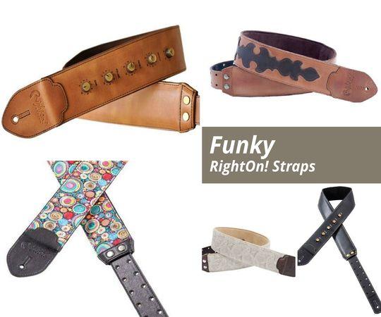 Curele pentru chitara Funky