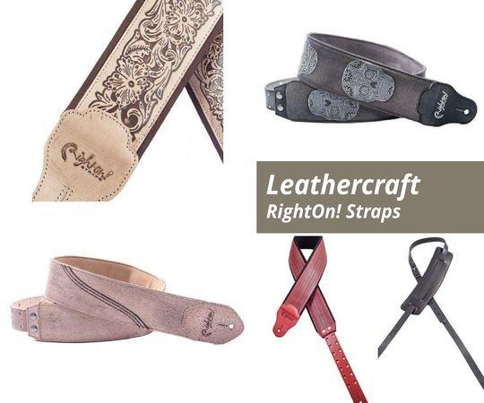 Curele pentru chitara Leathercraft