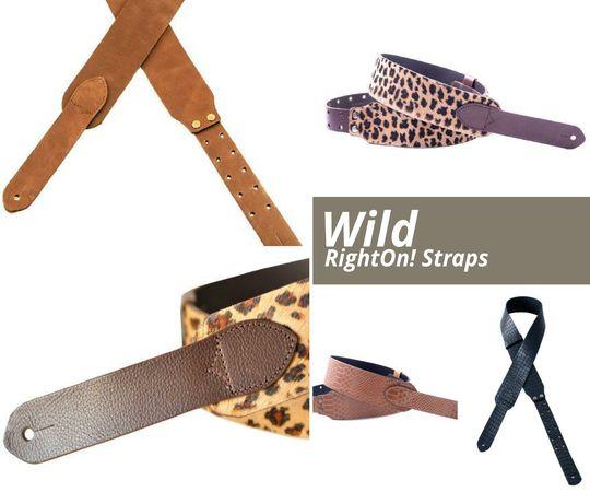 Curele pentru chitara Wild