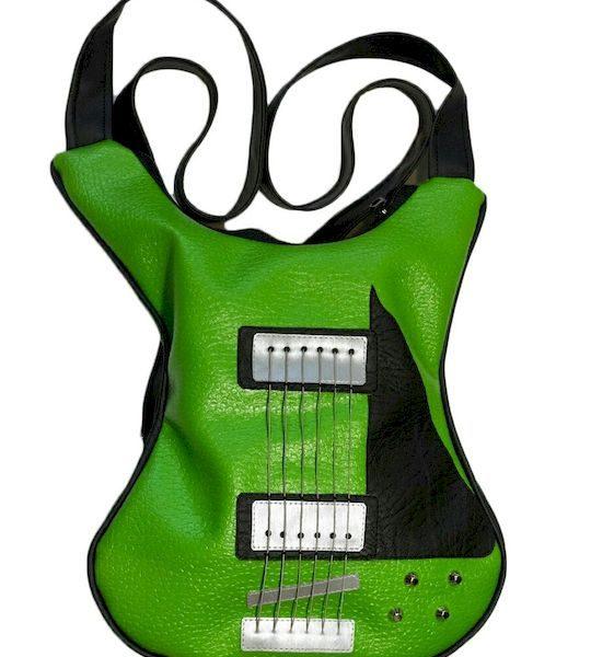 Geanta Solbags Green Guitar Backpack